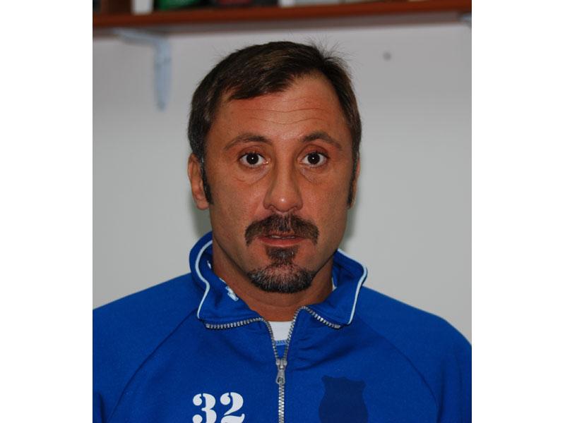 Il centravanti Antonio Ventresini, autore di due gol contro il Sant'Omero